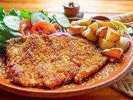 Рецепта Панирани телешки стек Стриндберг от вайсбрат